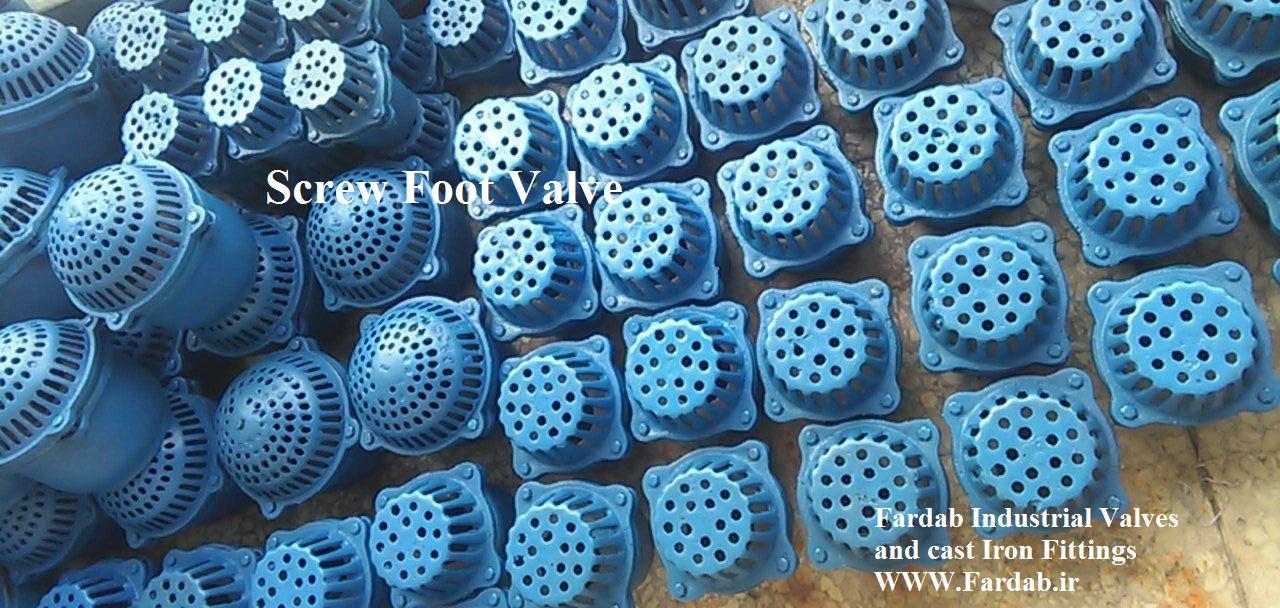 سوپاپ دنده ای (foot valve)
